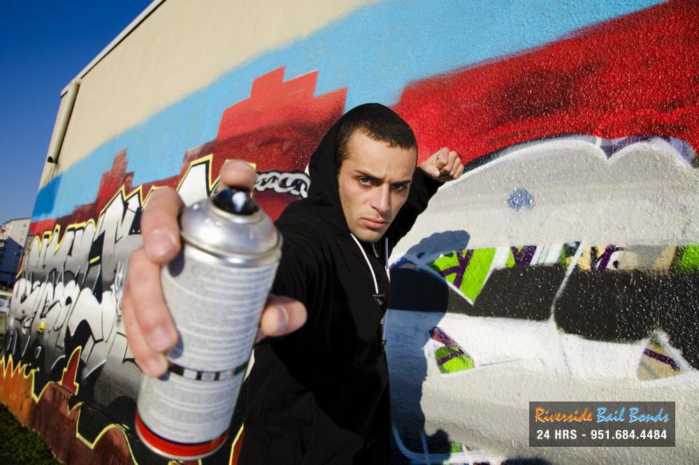 Graffiti is considered vandilism