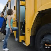 You Have to Stop for a School Bus in California